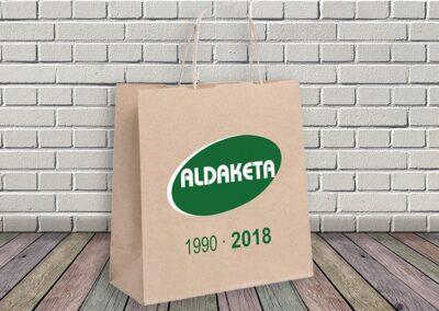 Bolsas impresas con logotipo