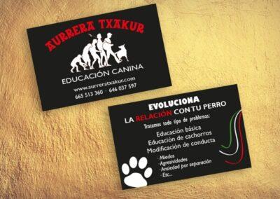 Diseñador de tarjetas de visita