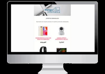Diseño de Newsletter en Bilbao
