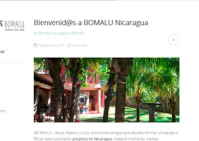 Diseño de blog en Nicaragua