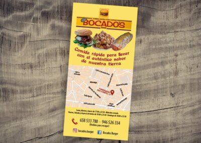 Diseño de flyer para restaurante