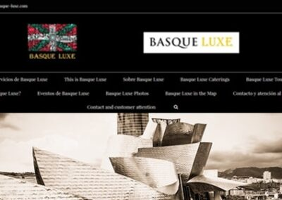 Diseño web de lujo