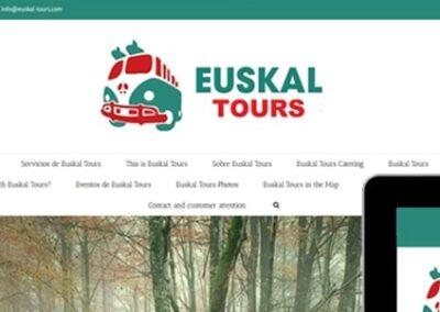 Diseño web de tours