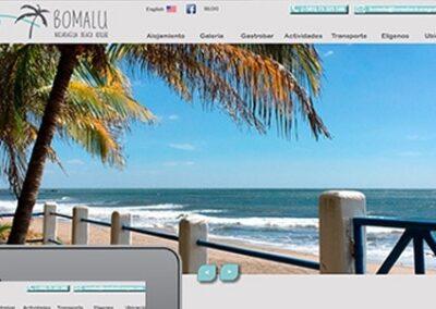 Diseño web para hotel