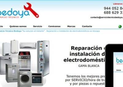 Diseño web para servicio