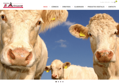 Elaboración de tienda online en Vitoria