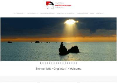 Diseño web para fundación