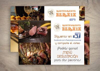 Imprenta de flyers para restaurantes