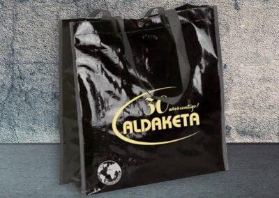 Impresión de bolsas biodegradables