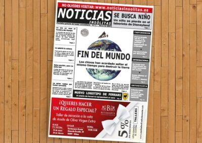 Impresión de periódicos