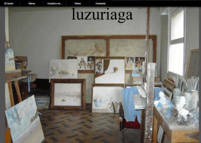 Diseño web para artista