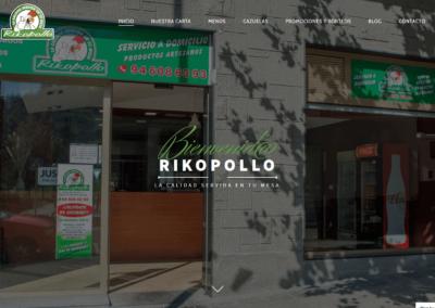 Página web para hostelería