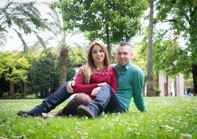 Sesión de fotos de pareja en Bilbao