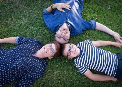 Sesión de fotos familiar en Santurtzi