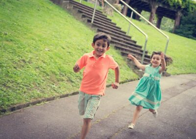 Sesión infantil en el parque