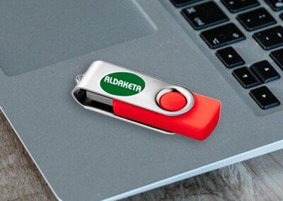 USB impresos con logotipo