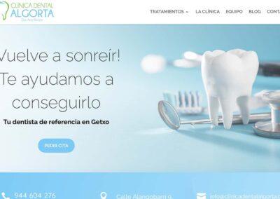 Página web para clínica dental