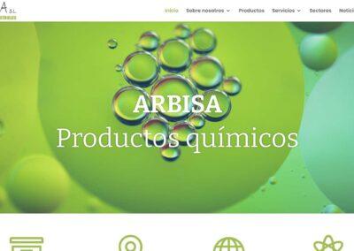 Página web de suministros industriales