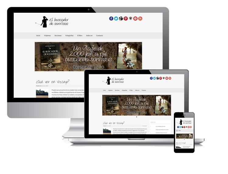 Diseño de blog profesional