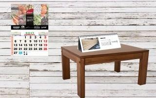 Impresión de calendarios de 2018