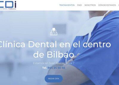 Diseño web para clínica dental